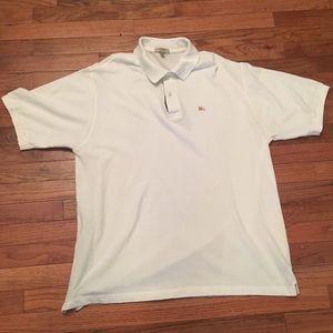 Men's Burberry London Polo Shirt XL